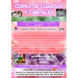 CURSO: CUARZOS Y CRISTALES