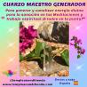CUARZO MAESTRO GENERADOR - MODELO A