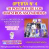 10 POSTALES DE DECRETOS LOS MAESTROS ASCENDIDOS A PRECIO ESPECIAL DE OFERTA