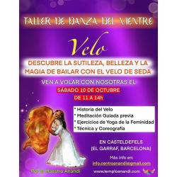 TALLER DE DANZA DEL VIENTRE MODALIDAD TÉCNICA DEL VELO