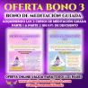 OFERTA BONO CURSOS DE MEDITACIÓN GUIADA ONLINE PARTE 1 & PARTE 2 CON UN 10% DE DESCUENTO