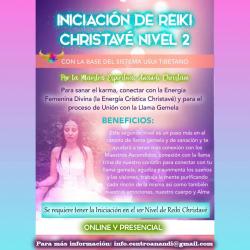 CURSO INICIACIÓN REIKI CHRISTAVÉ - NIVEL 2