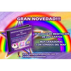 CD DE MEDITACIÓN DE LOS 7 RAYOS EN VERSIÓN DIGITAL