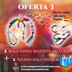 MALA HINDÚ ARCO IRIS
