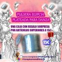 PULSERA EGIPCIA PLATEADA PARA DANZA