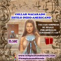 COLLAR NACARADO ESTILO INDIO-AMERICANO
