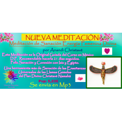 MEDITACIÓN GUIADA DE SANACIÓN ENERGÍA FEMENINA DIVINA - MP3