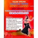 TALLER DE DANZA DEL VIENTRE ESTILO EGIPCIO (1ª PARTE)