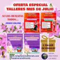 OFERTA ESPECIAL TALLERES MES DE JULIO