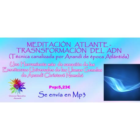 MEDITACION TRANSFORMACION ADN