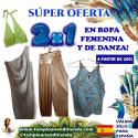 """SÚPER OFERTA 2X1 EN ARTÍCULOS DE ROPA Y DANZA DEL VIENTRE A PARTIR DE 10€ """"MES DE JULIO ESPECIAL KRISHNA"""""""