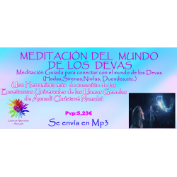 MEDITACIÓN GUIADA DEL MUNDO DE LOS DEVAS - MP3