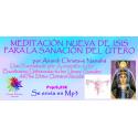 MEDITACIÓN GUIADA DE ISIS PARA LA SANACIÓN DEL ÚTERO - MP3