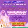 CLASES MENSUALES DE CANTO DE MANTRAS
