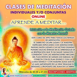 CLASES SUELTAS DE MEDITACIÓN