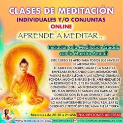 CLASES SEMANALES DE MEDITACIÓN