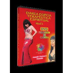 DVD DANZA DEL VIENTRE EGIPCIA TERAPÉUTICA Y ESPIRITUAL Nivel 2 - PERCUSIÓN CADERAS