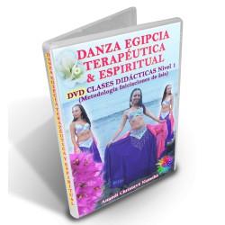 DVD DIGITAL DE DANZA DEL VIENTRE EGIPCIA TERAPÉUTICA Y ESPIRITUAL - Nivel 1