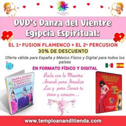 PACK DIGITAL DVD'S DE DANZA DEL VIENTRE EGIPCIA ESPIRITUAL