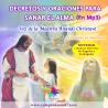 VERSIÓN DIGITAL MP3 - CD DECRETOS DE INVOCACIÓN Y SANACIÓN CON LA VOZ DE LA MAESTRA ANANDI