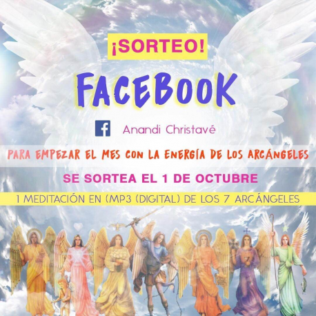 SORTEO 1 DE OCTUBRE EN FACEBOOK E INSTRAGRAM DE 1 MEDITACIÓN DE REGALO