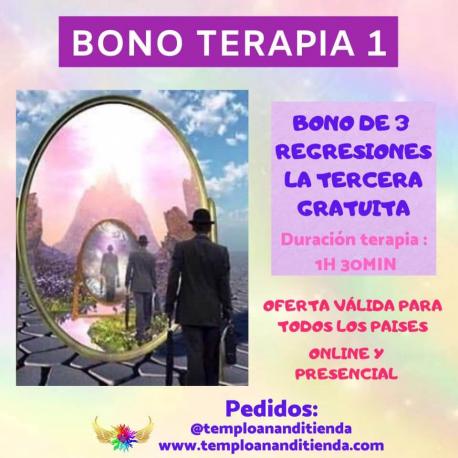 BONO DE TRES REGRESIONES CRÍSTICAS CHRISTAVÉ MODALIDAD PRESENCIAL LA TERCERA DE REGALO
