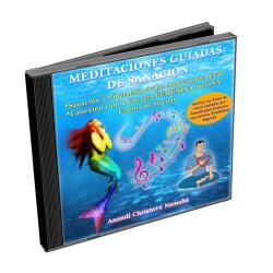VERSIÓN DIGITAL MP3 - CD MEDITACIONES GUIADAS DE SANACIÓN DE LOS ASPECTOS DEL EGO Y CONEXIÓN CON LA ENERGÍA FEMENINA DIVINA